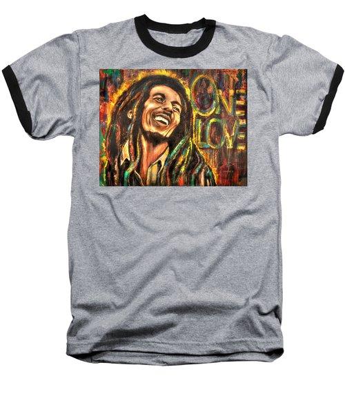 Bob Marley - One Love Baseball T-Shirt