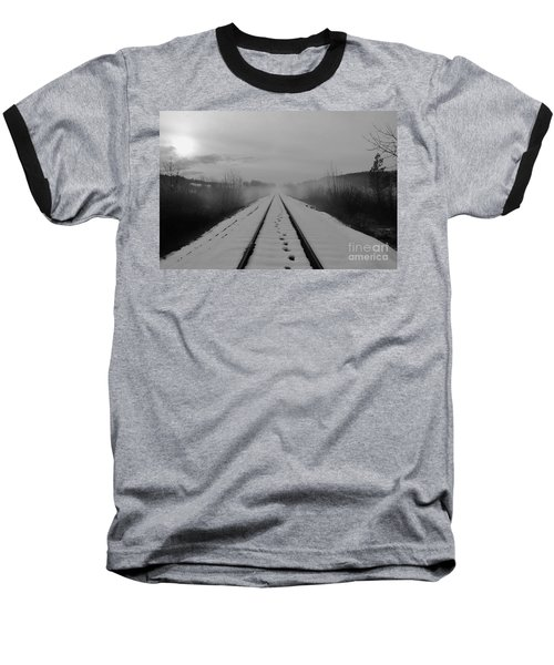 One Man's Journey Baseball T-Shirt