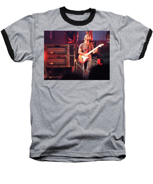 Baseball T-Shirt featuring the photograph One Of The Greatest Guitar Player Ever by Aaron Martens