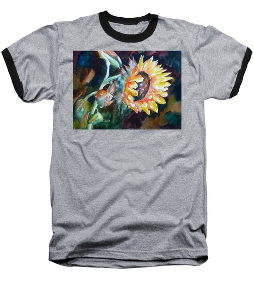 One Sunflower Baseball T-Shirt