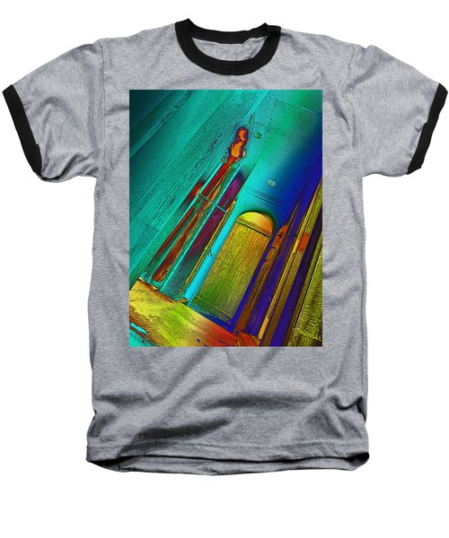 One To Many Baseball T-Shirt by David Pantuso