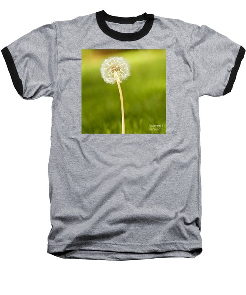 Baseball T-Shirt featuring the digital art One Wish  by Artist and Photographer Laura Wrede