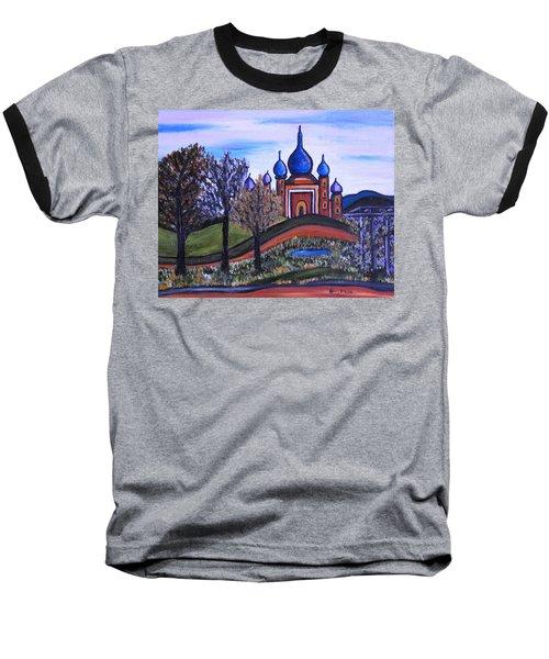 Onion Scape Baseball T-Shirt
