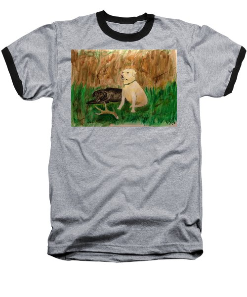 Onyx And Sarge Baseball T-Shirt