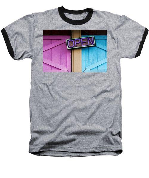 Open Baseball T-Shirt by Paul Wear