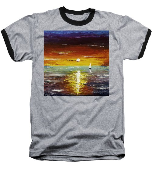 Open Sea Baseball T-Shirt