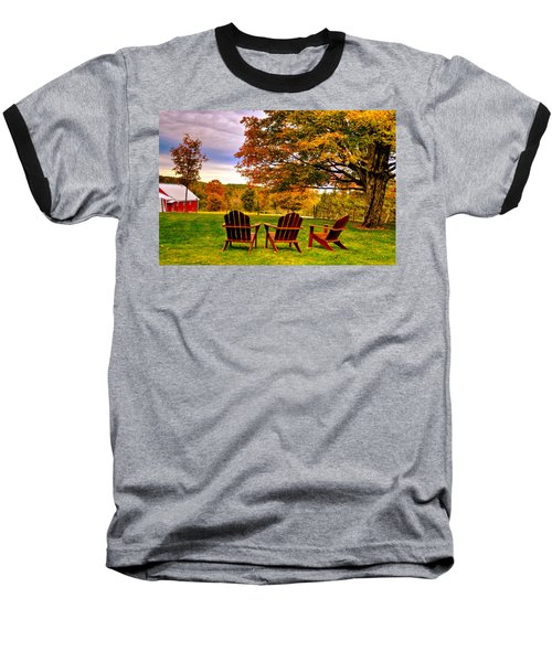 Open Seating Baseball T-Shirt