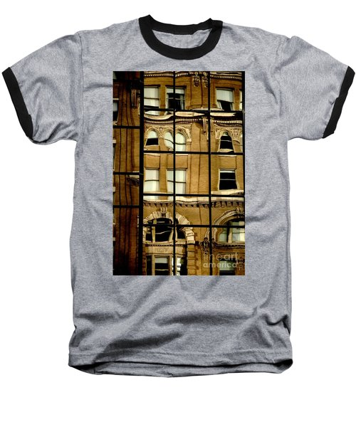 Baseball T-Shirt featuring the photograph Open Windows by Christiane Hellner-OBrien