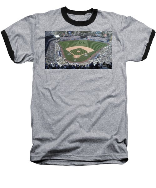 Baseball T-Shirt featuring the photograph Opening Day Upper Deck by Chris Tarpening