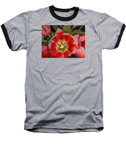 Opening Baseball T-Shirt by Pattie Wall