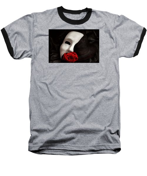 Opera - Mystery And The Opera Baseball T-Shirt by Mike Savad