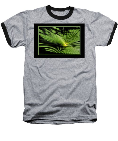 Optical Illusion Baseball T-Shirt