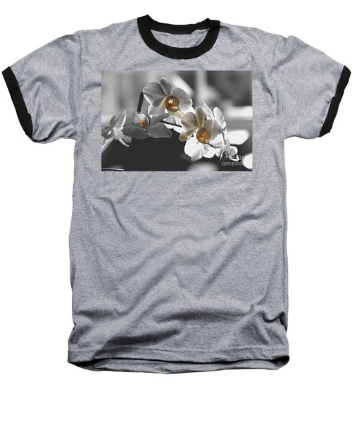 Orange And White Baseball T-Shirt