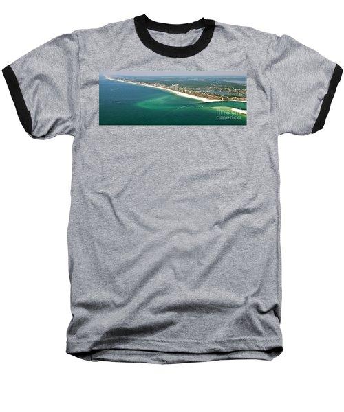 Looking N W Across Perdio Pass To Gulf Shores Baseball T-Shirt