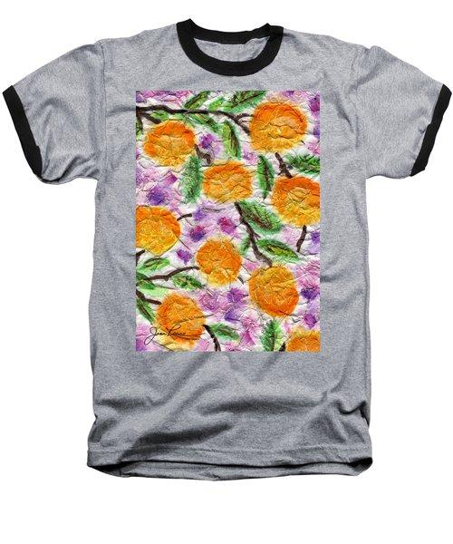 Orange Blossoms Baseball T-Shirt