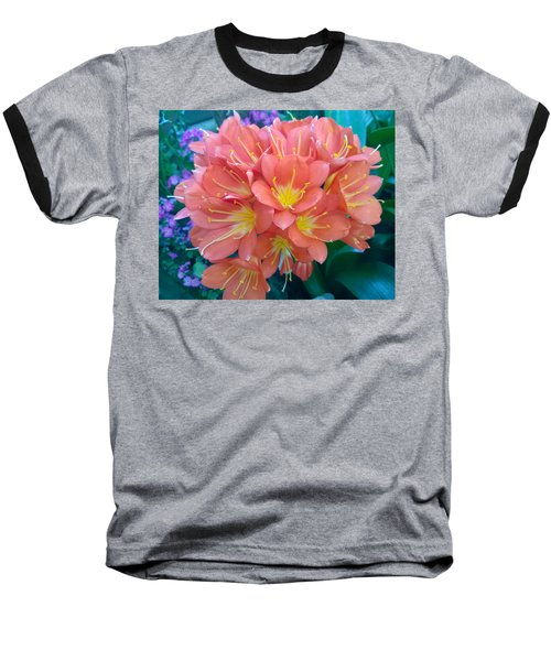 Orange Bouquet Baseball T-Shirt