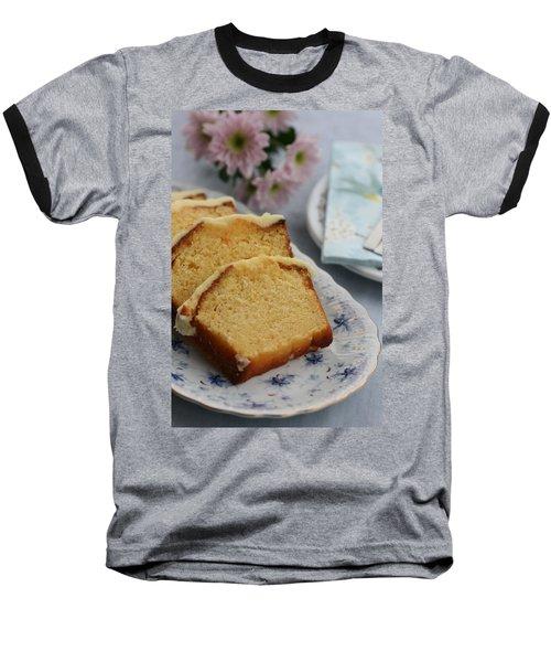 Orange Cake Baseball T-Shirt