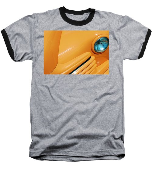 Orange Car Baseball T-Shirt
