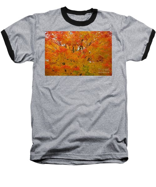 Baseball T-Shirt featuring the photograph Orange Crush by Robert Pearson