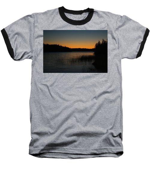 Orange Glow Baseball T-Shirt