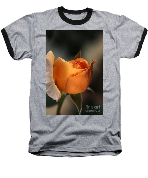 Baseball T-Shirt featuring the photograph Orange Mood by Joy Watson