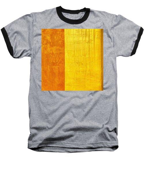 Orange Pineapple Baseball T-Shirt