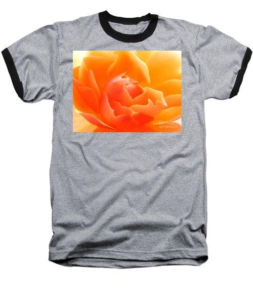 Orange Sherbet Baseball T-Shirt