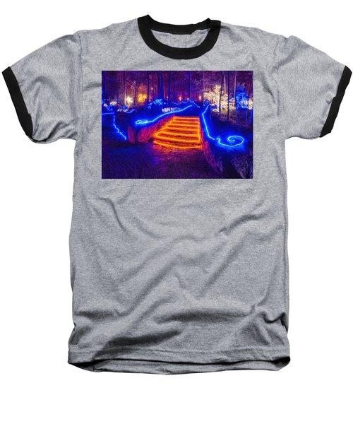 Orange Steps Baseball T-Shirt