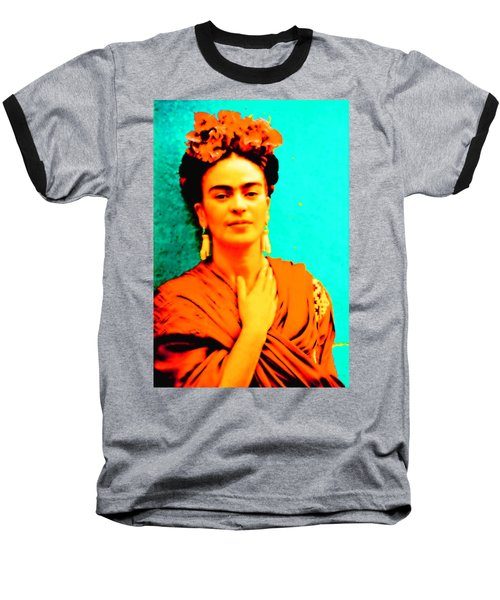 Orange You Glad It Is Frida Baseball T-Shirt