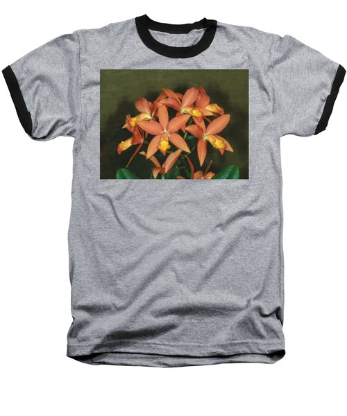 Orchid 3 Baseball T-Shirt by Andy Shomock