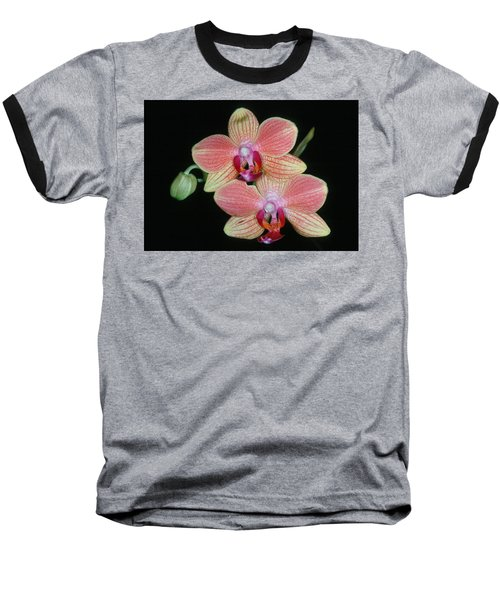 Orchid 4 Baseball T-Shirt