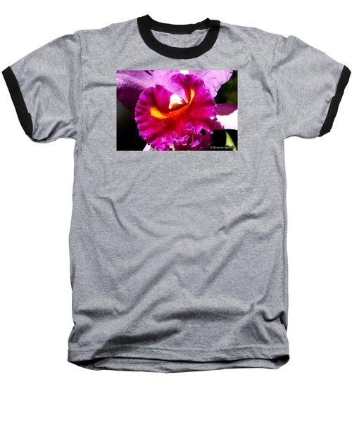 Orchid Baseball T-Shirt