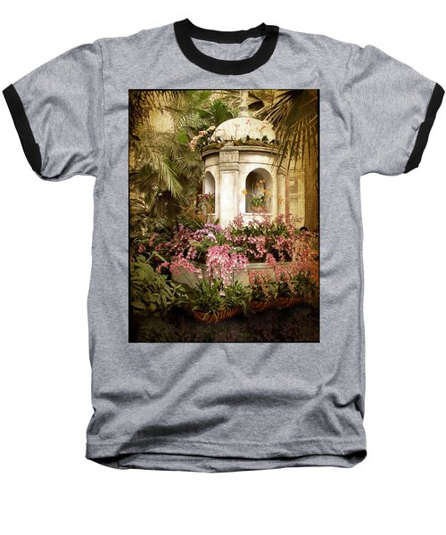 Orchid Exhibition Baseball T-Shirt