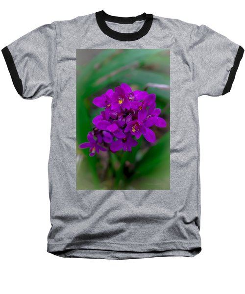 Orchid In Motion Baseball T-Shirt