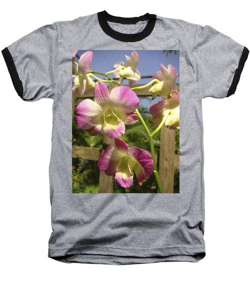 Orchid Splendor Baseball T-Shirt