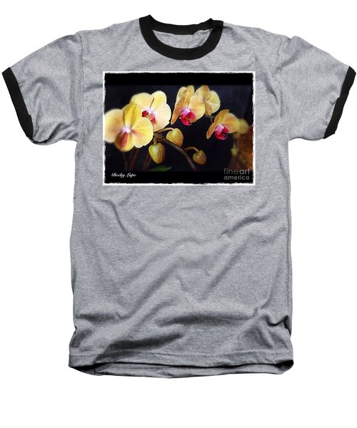 Orchids Arise Baseball T-Shirt