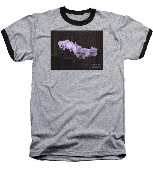 Baseball T-Shirt featuring the photograph Orchids Loretta by The Art of Alice Terrill