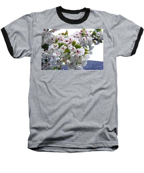Oregon Cherry Blossoms Baseball T-Shirt