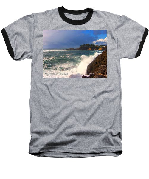 Oregon Coast 9 Baseball T-Shirt
