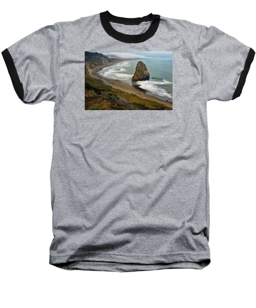 Oregon Coast Baseball T-Shirt by Priscilla Burgers