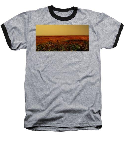 Oregon Coastline Ll Baseball T-Shirt