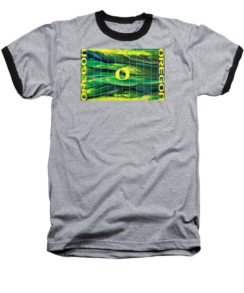 Oregon Football Baseball T-Shirt