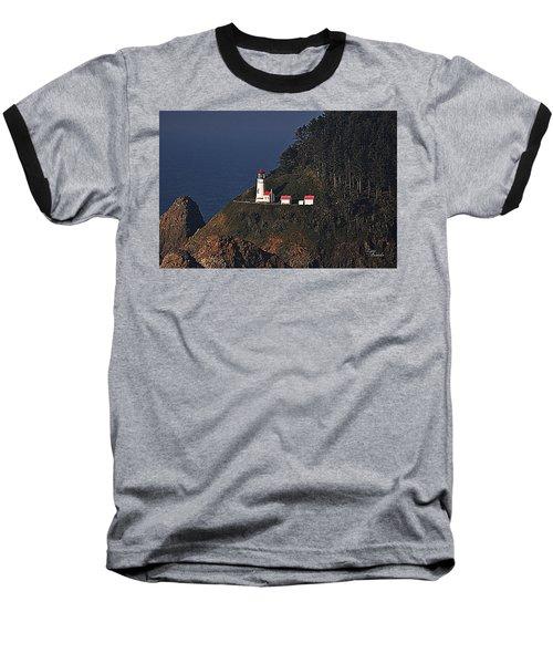 Oregon Lighthouse Baseball T-Shirt
