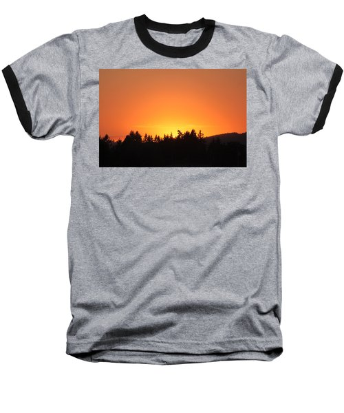 Oregon Sunset Baseball T-Shirt