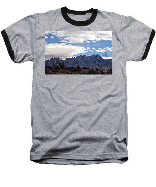 Organ Mountain Landscape Baseball T-Shirt