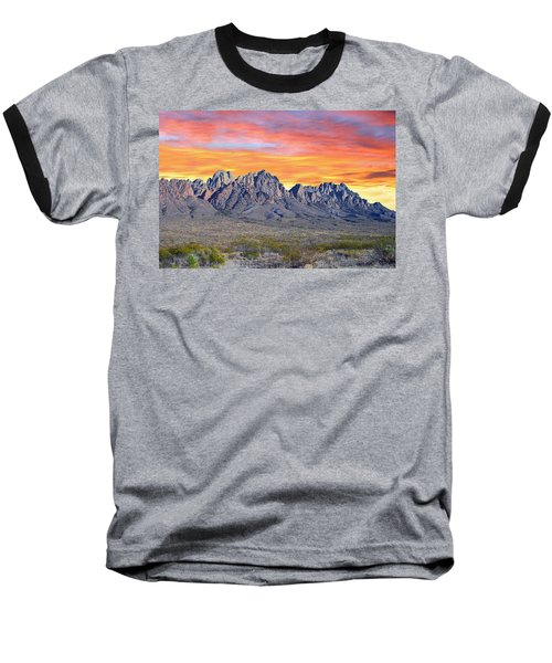 Organ Mountain Sunrise Most Viewed  Baseball T-Shirt