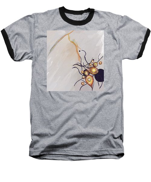 Organic Abstraction Baseball T-Shirt