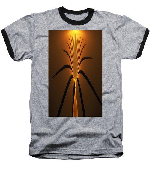 Oriental Vase Baseball T-Shirt by GJ Blackman
