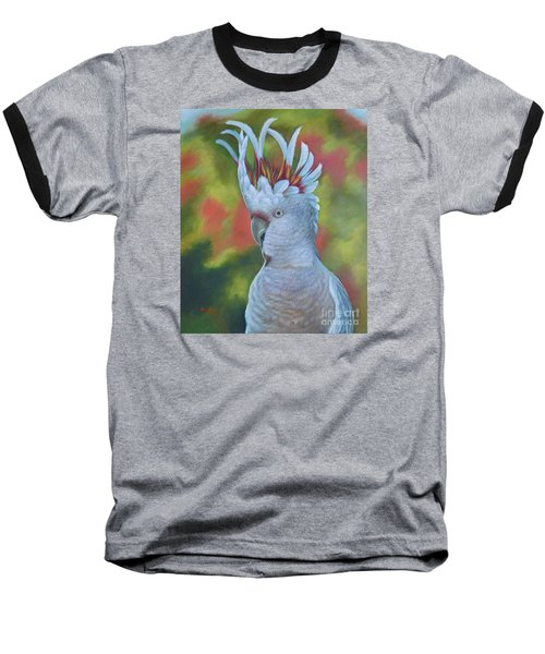 Original Animal Oil Painting Art -parrot #16-2-5-17 Baseball T-Shirt
