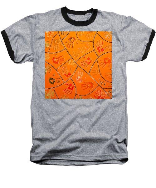 Original Art 3 Baseball T-Shirt by Mariusz Czajkowski